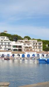 Spaniens Hafen in Cala Ratjada