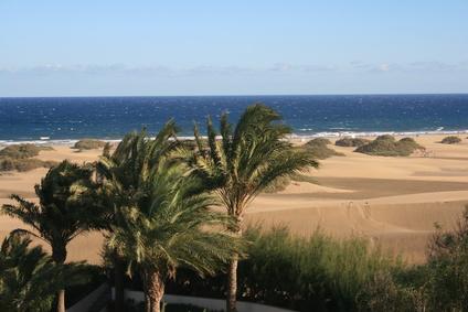 Naturschutzgebiet auf Gran Canaria Gran