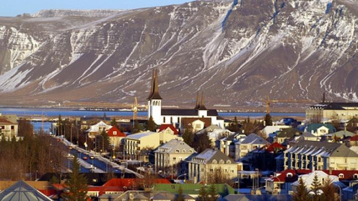 Reykjavik Stadtbild